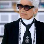 Designerul Karl Lagerfeld